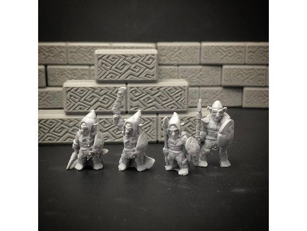 92735f17fdbc4c18ea653c27ffeaf7c2_preview_featured.jpg Download free STL file Kyn Finvara Goblin Warrior (Heroic scale) • 3D print design, Dutchmogul