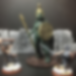 Free STL Topiary Golem (Amazon) (28mm/Heroic scale), Dutchmogul