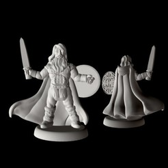 Free 3d model Champion of Midgard (18mm scale), Dutchmogul