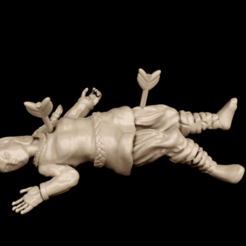 RIPingrid.png Download free STL file Shield Maiden Casualty • 3D printable template, Dutchmogul