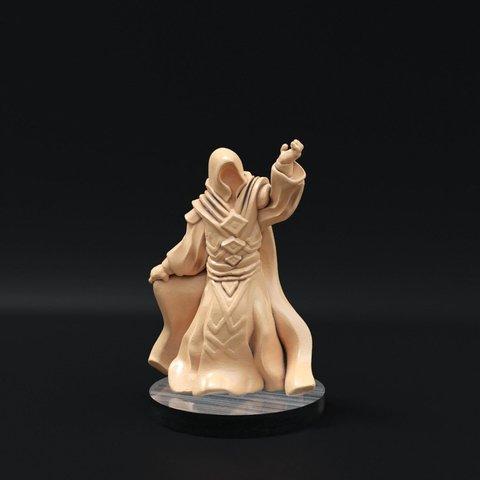 Download free 3D printer templates Guild Mage Redux (32mm scale), Dutchmogul