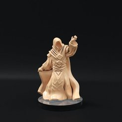 Free 3D printer designs Guild Mage Redux (32mm scale), Dutchmogul