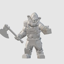 Free STL file Goblin Merc (28mm/32mm scale), Dutchmogul
