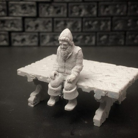 e10168d7b80e1ed720162e05d7fba8d1_preview_featured.jpg Download free STL file Townsfolke: Tavern Patrons (28mm/32mm scale) • 3D printing template, Dutchmogul