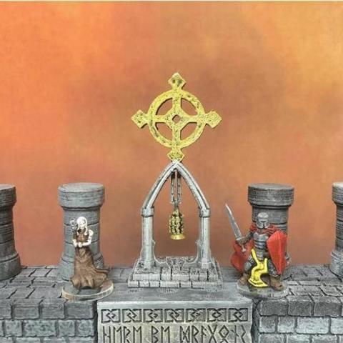 fichier 3d gratuit Starcross Shrine (échelle héroïque), Dutchmogul