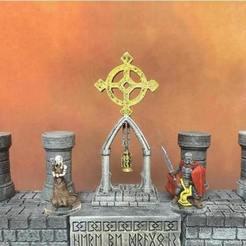 Free 3d model Starcross Shrine (Heroic scale), Dutchmogul