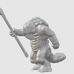 Free 3D printer model Skahl Tribal Warrior (28mm/32mm scale), Dutchmogul
