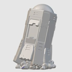Download free 3D printer templates Intruder Torpedo (28mm/32mm scale), Dutchmogul