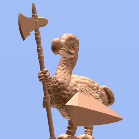 Capture d'écran 2017-08-28 à 09.58.53.png Download free STL file Dodo Guard (28mm/Heroic scale) • Object to 3D print, Dutchmogul