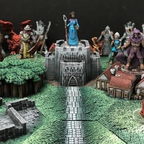 Descargar Modelos 3D para imprimir gratis La maldición de Moht (D6Modular Quest), Dutchmogul