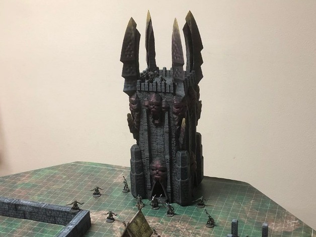 d65bc44dfb8a554cab9b412fae6d0141_preview_featured.jpg Download free STL file Tower of Darkness (28mm/Heroic scale) • 3D printer template, Dutchmogul