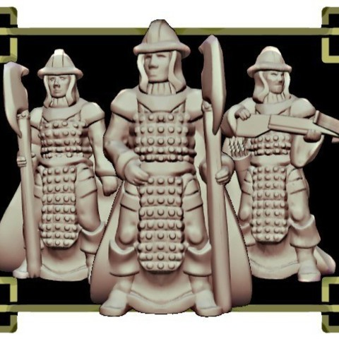 59f2b5bacd23e8d3984d930904fcf68d_preview_featured-1.jpg Download free STL file Townsfolke: Town Guard variants (28mm/Heroic scale) • 3D print object, Dutchmogul