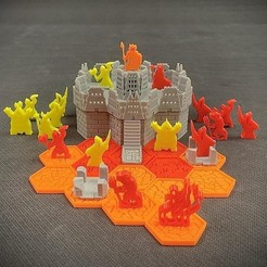 Download free 3D printer files Pocket-Tactics: Kingdoms of Hell (5th Edition), Dutchmogul