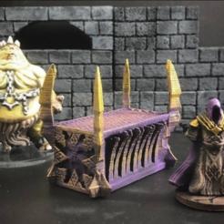 Descargar archivos STL gratis ScatterBlocks: Daemonic Altar (28 mm / escala heroica), Dutchmogul