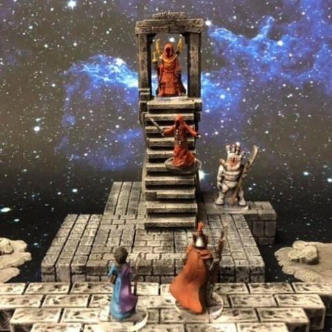 Free 3D printer model ScatterBlocks: Ruined Portal (28mm/32mm scale), Dutchmogul