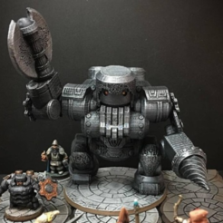 Free 3d printer model Netherforge Jotunkiller (28mm/Heroic scale), Dutchmogul