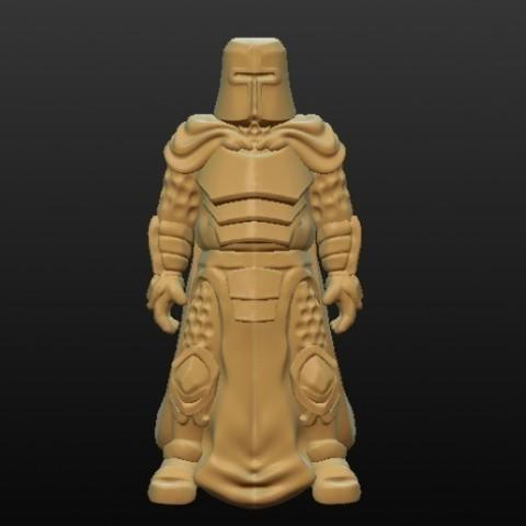 Archivos STL gratis Sculptris Dummy: Knight, Dutchmogul