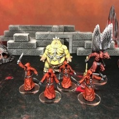 Free 3D printer files Cultists (28/32mm scale), Dutchmogul