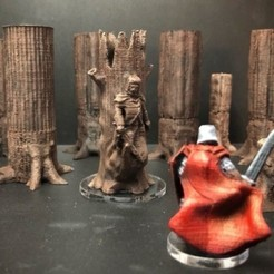 archivos stl Wodeknight (modelo de previsualización Wrath & Ruin a escala de 28 mm) gratis, Dutchmogul