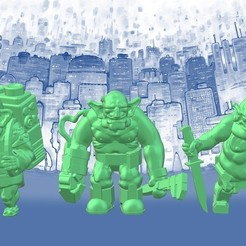 Free 3D printer model Space Goblin Junker Crew (28mm/32mm scale), Dutchmogul