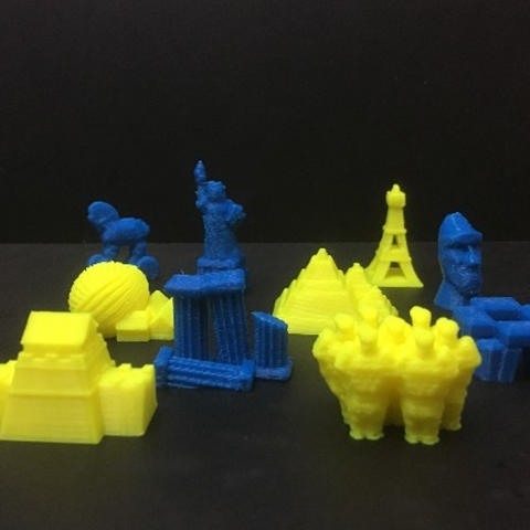Download free STL file Alien Architects: Monument Counters • Object to 3D print, Dutchmogul