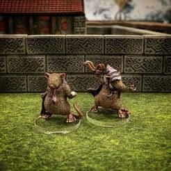 Descargar Modelos 3D para imprimir gratis Ratfolk Pelter (escala 32mm), Dutchmogul