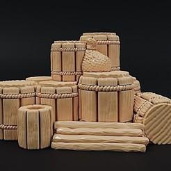 Descargar Modelos 3D para imprimir gratis Pila de mercancías vikingas, Dutchmogul