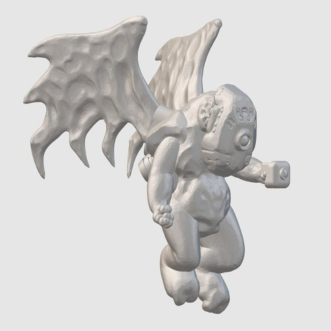 Download free 3D print files Urox Sky Marine (28mm/32mm scale), Dutchmogul