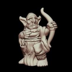 Descargar modelo 3D gratis Kyn Finvara: Arquero duende (escala heroica), Dutchmogul