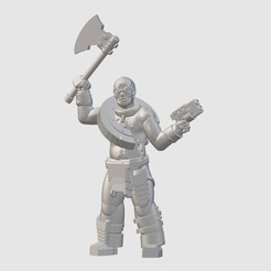 Download free 3D printing designs Wasteoid Scrapper (28mm/32mm scale), Dutchmogul