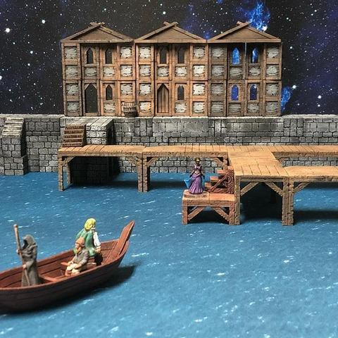 Download free STL files Townsfolke: Ferryman (28mm/32mm scale), Dutchmogul