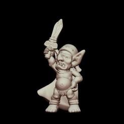Descargar Modelos 3D para imprimir gratis Kyn Finvara: Gobling (Escala heroica), Dutchmogul