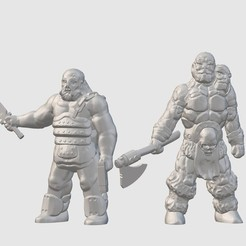 Download free 3D printer files Mutant Raiders (28mm/32mm scale), Dutchmogul