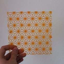 Download free STL file Geometric Stars Stencil • 3D printable object, liamrichards25