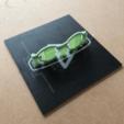 Download free STL Glasses frame 2, liamrichards25