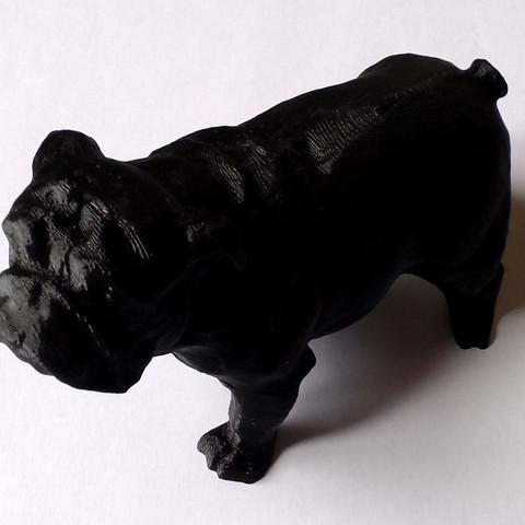 Download free 3D print files Bull Dog Café de Veneux-Les Sablons, Mcaa