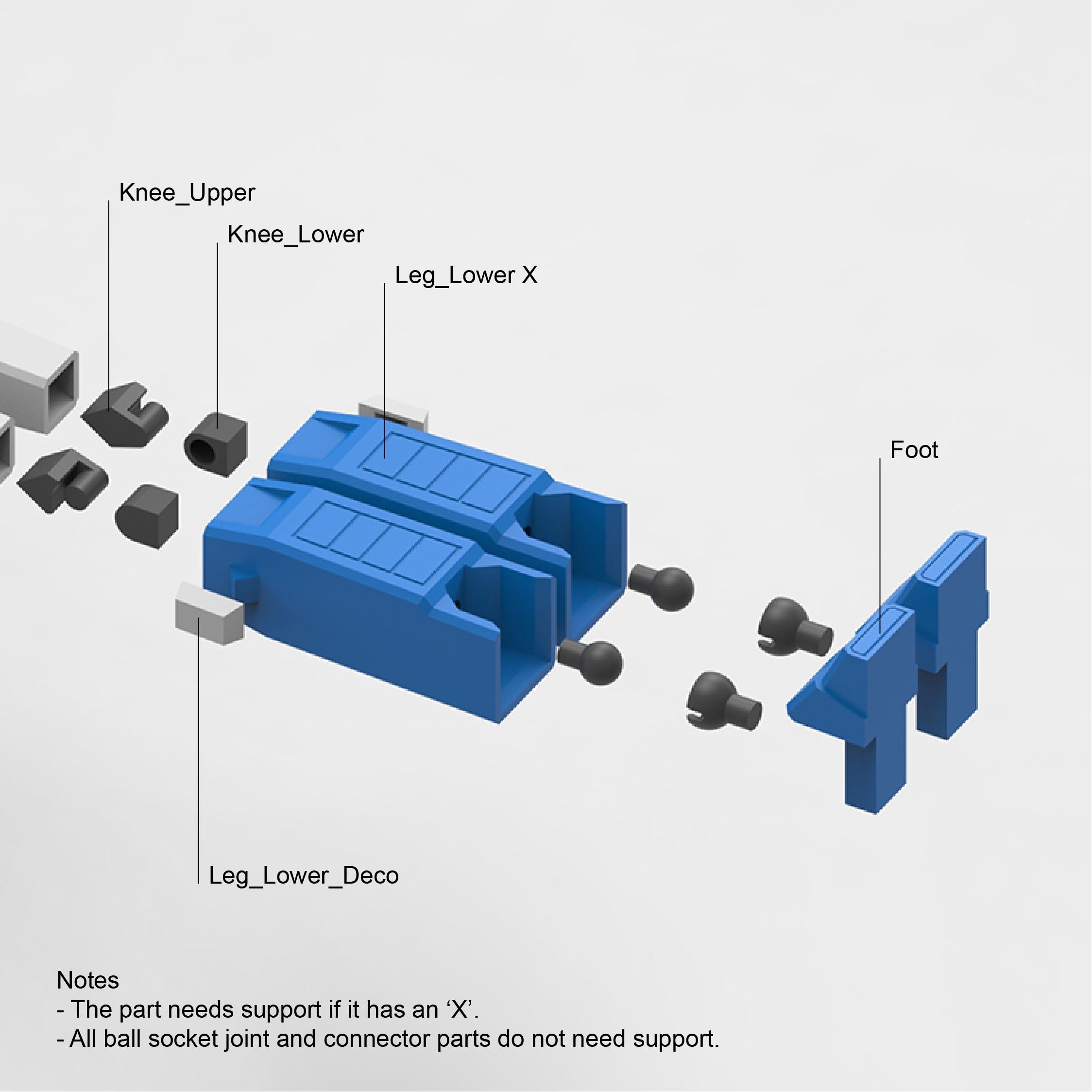 OptimusPrime_22b_Edit.jpg Download STL file Low Poly Optimus Prime • Model to 3D print, biglildesign