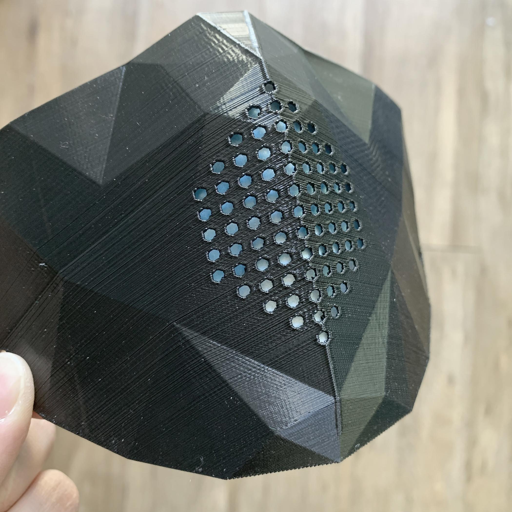 05.jpg Download STL file Low Poly Masks • 3D printer model, biglildesign