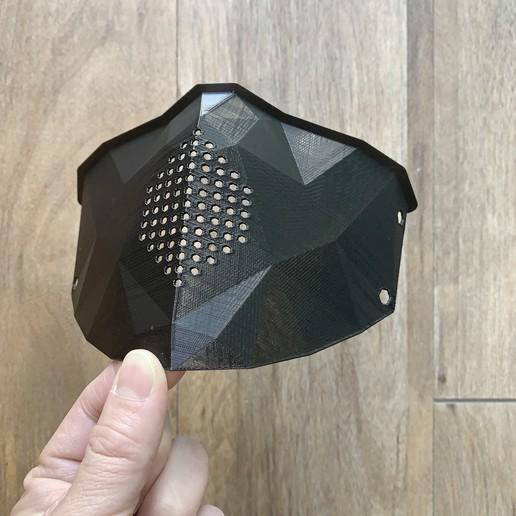 01.jpg Download STL file Low Poly Masks • 3D printer model, biglildesign