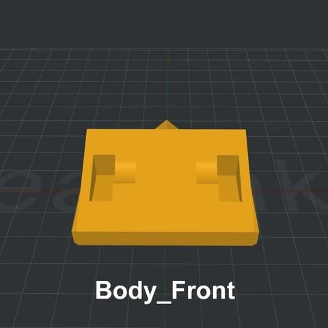 Body_Front.jpg Download STL file LiL FRONT LOADER • 3D printable template, biglildesign