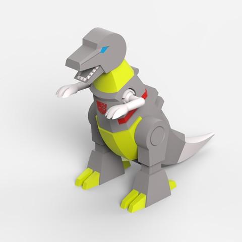06_edit.jpg Download STL file Grimlock • Model to 3D print, biglildesign