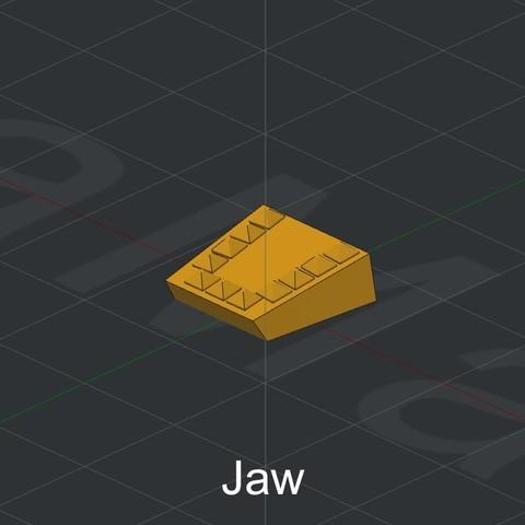 Jaw.jpg Download STL file Grimlock • Model to 3D print, biglildesign