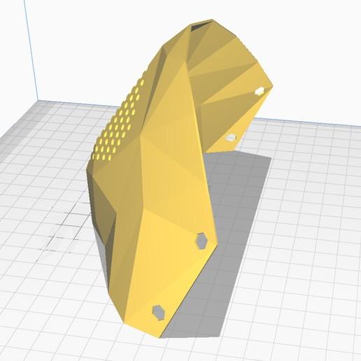 00.jpg Download STL file Low Poly Masks • 3D printer model, biglildesign