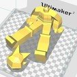Diseños 3D gratis Low Poly Astro Boy, biglildesign