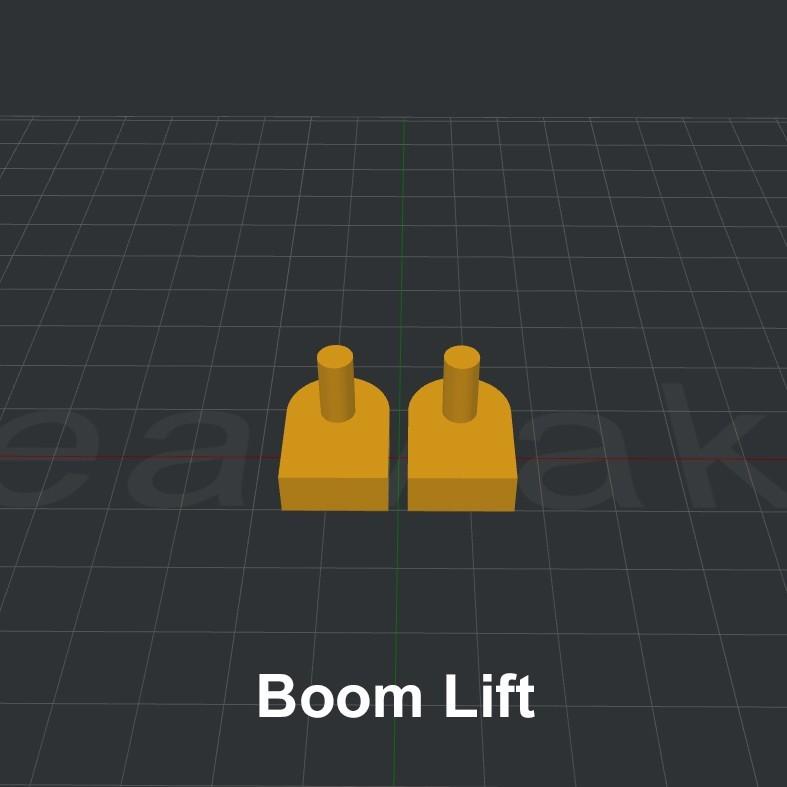 Boom Lift.jpg Download STL file LiL FRONT LOADER • 3D printable template, biglildesign