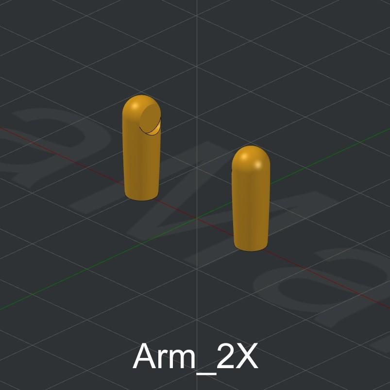 Arm_2X.jpg Download STL file Grimlock • Model to 3D print, biglildesign