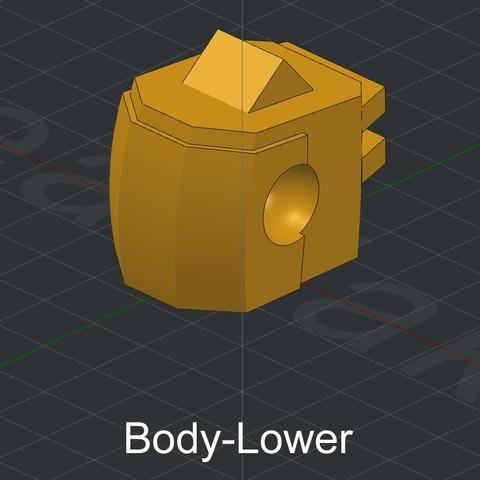 Body-Lower.jpg Download STL file Grimlock • Model to 3D print, biglildesign