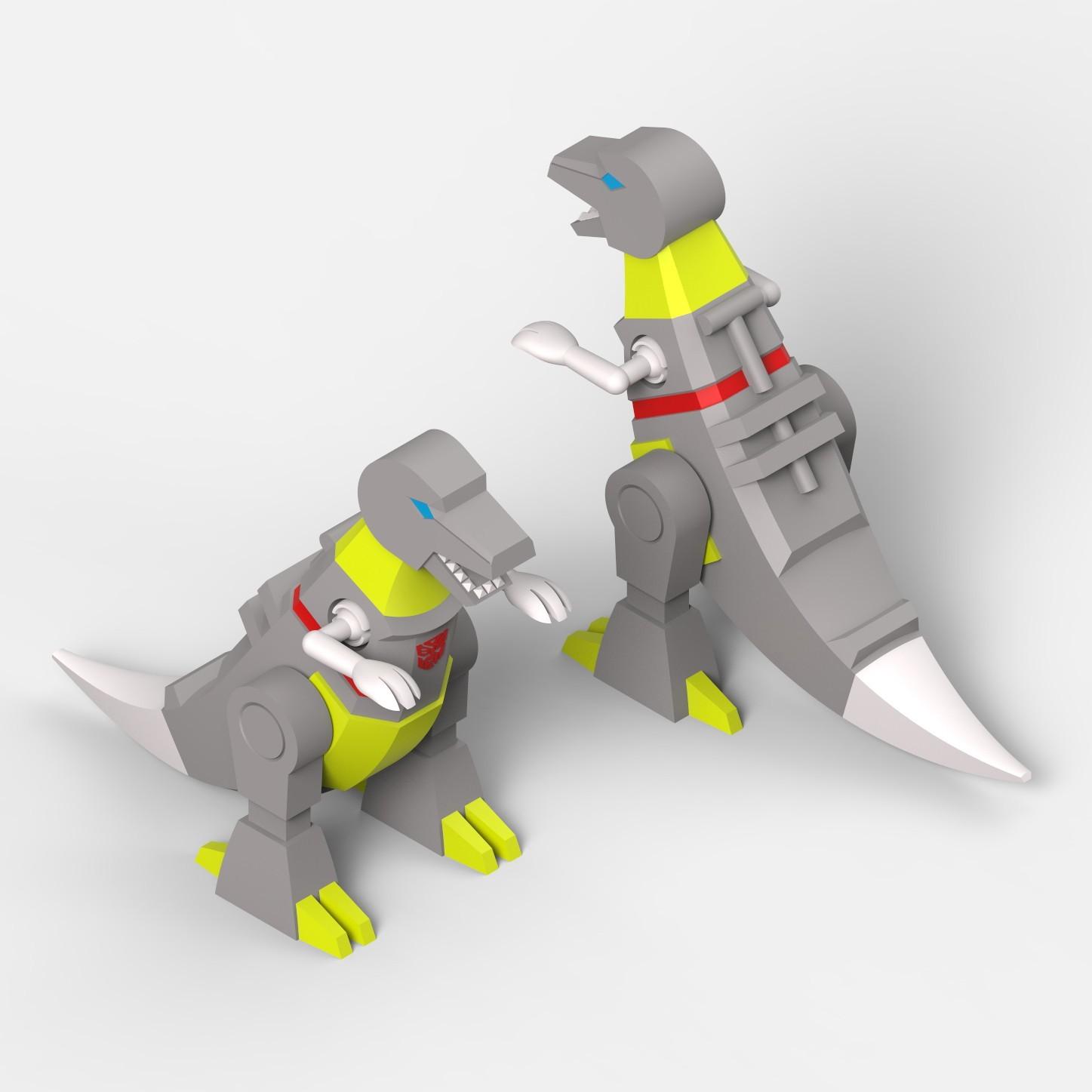 05_edit.jpg Download STL file Grimlock • Model to 3D print, biglildesign