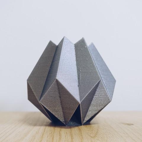 3D printing model Low Poly Folded Vase, biglildesign