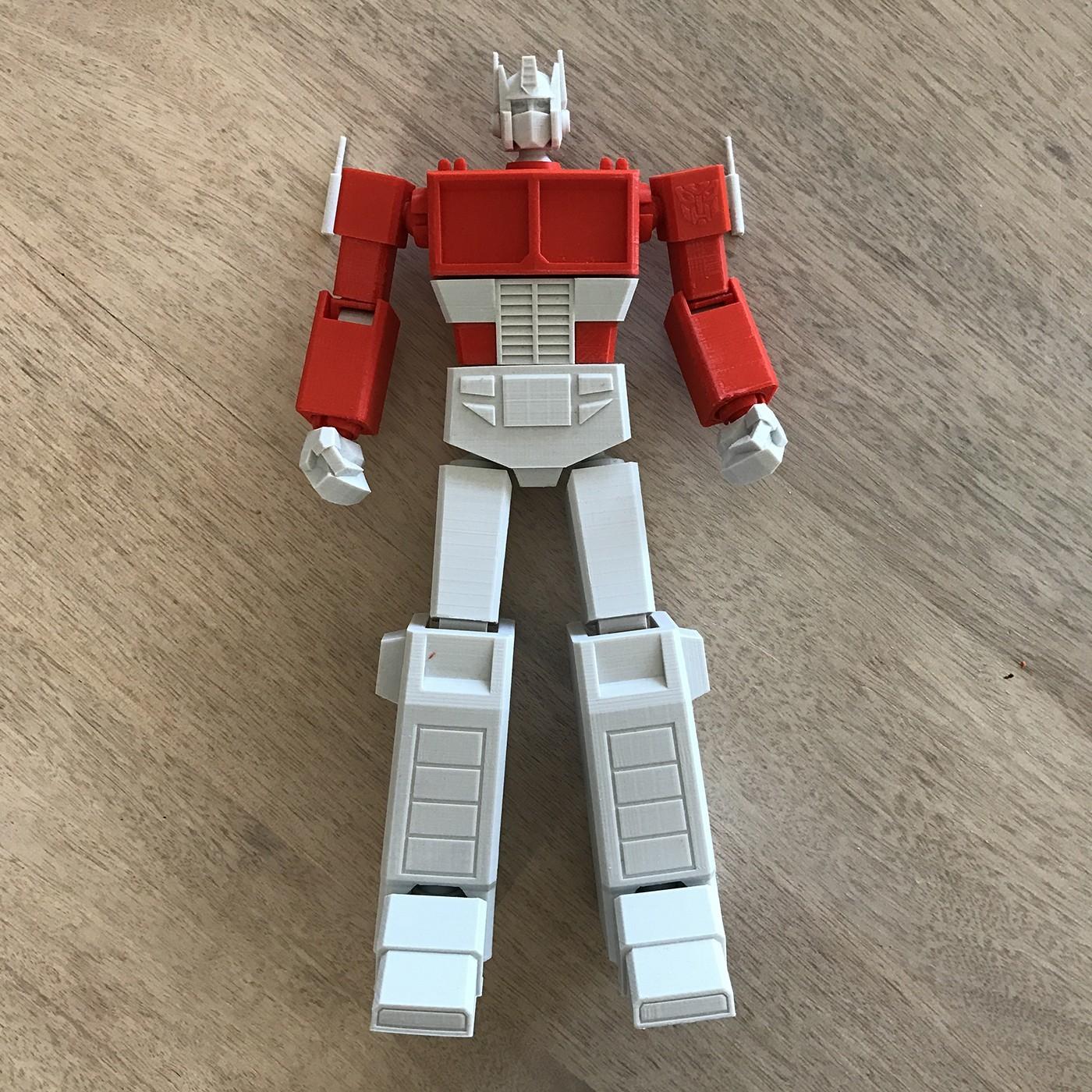 01.jpg Download STL file Low Poly Optimus Prime • Model to 3D print, biglildesign